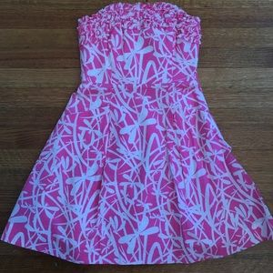 lily pulitzer ferra dress dragonfly size 0, NWOT